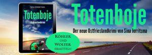 Banner Ostfrieslandkrimi Totenboje