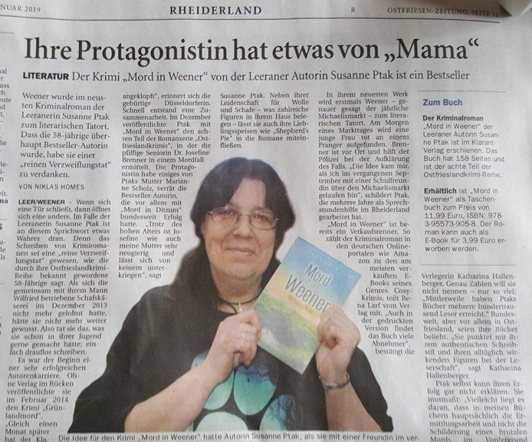 Quelle: Ostfriesen-Zeitung 21. Januar 2019