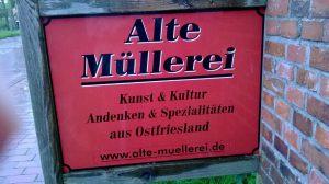 Alte Müllerei Schild