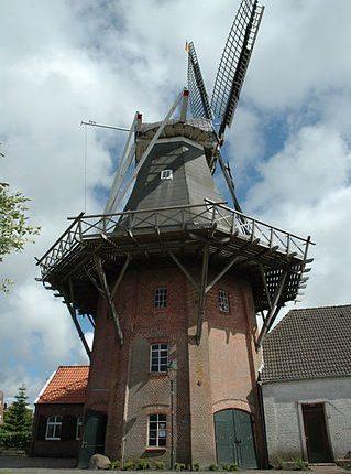 Rysumer Mühle Bild: Elvaube_wikimedia