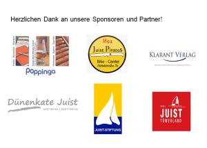 Sponsorenplakat Oster-Rallye Juist 2019