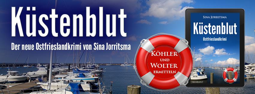 Ostfrieslandkrimi Küstenblut von Sina Jorritsma