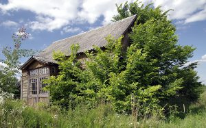 Einsames Haus im Ostfrieslandkrimi Inselzorn