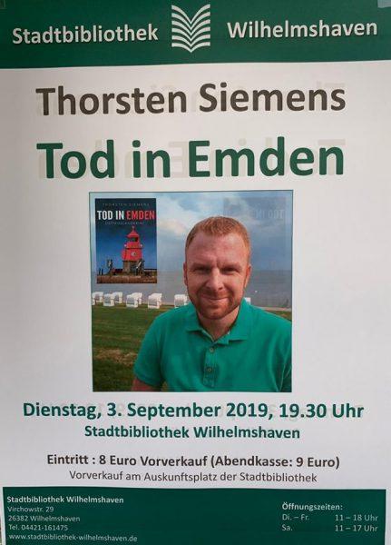 Krimilesung Tod in Emden