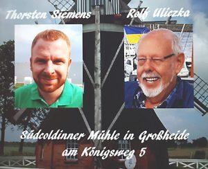 Ostfriesenkrimi Lesung Thorsten Siemens und Rolf Uliczka