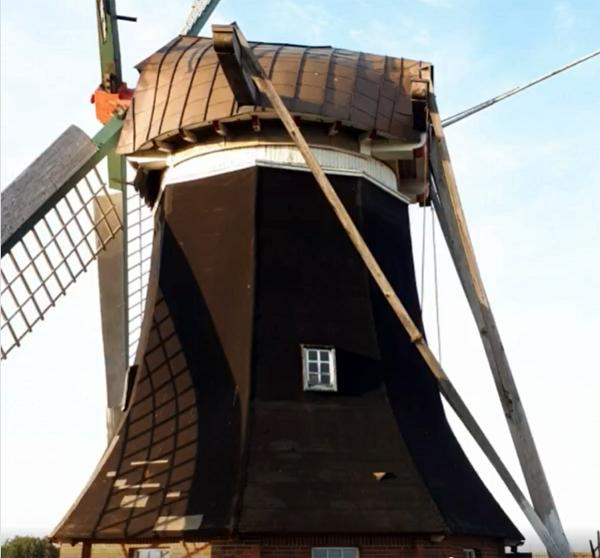 Blick auf die Mühle Südcoldinne