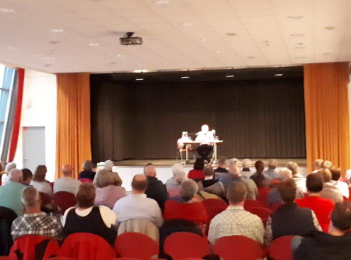 Am 11.09.2019: Krimilesung Strandportal Bensersiel - Thorsten Siemens und Rolf Uliczka