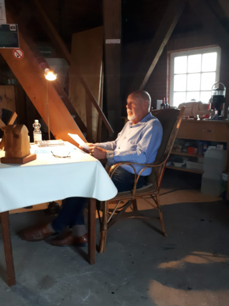 Rolf Uliczka bei der Ostfrieslandkrimi Lesung