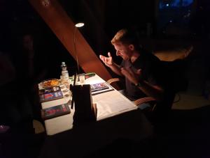 Thorsten Siemens bei der Ostfrieslandkrimi Lesung