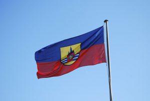Flagge der Insel Wangerooge