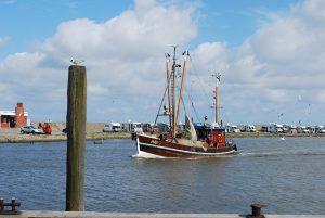 Fischerboot Harlesiel