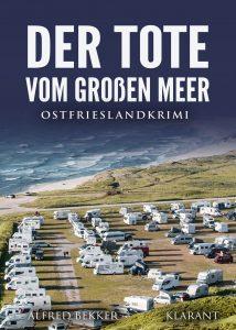Cover Ostfrieslandkrimi Der Tote vom Großen Meer.