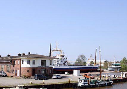 Oldersum Hafen