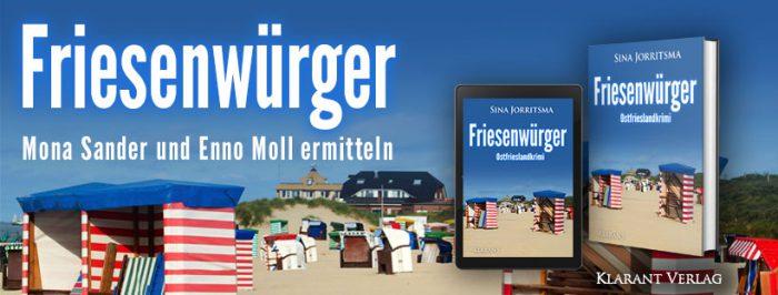 Banner Ostfrieslandkrimi Friesenwürger