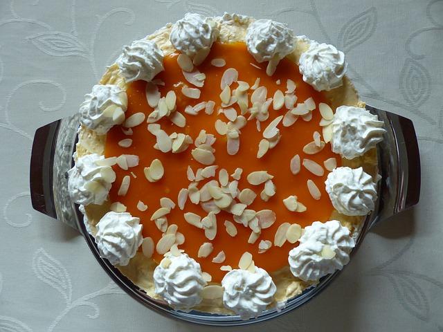 Sanddorn Torte