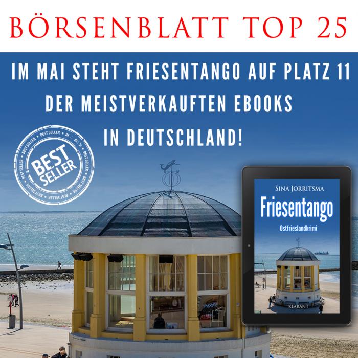Bestseller Ostfrieslandkrimi Friesentango