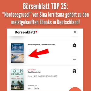 Börsenblatt Ostfrieslandkrimi Bestseller Nordseegrusel