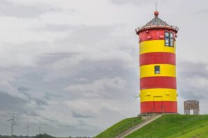 Pilsum in der Krummhörn Schauplatz der Ostfrieslandkrimis von Andreas Kriminalinski