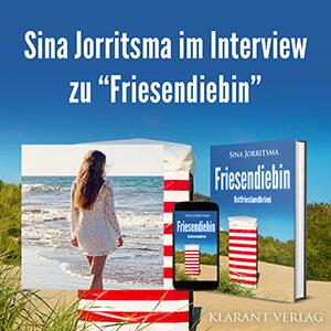 Sina Jorritsma im Interview zu Friesendiebin