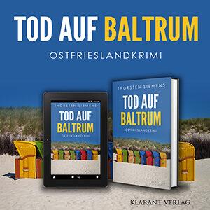 Ostfrieslandkrimi Tod auf Baltrum