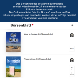 Bestsellerliste Börsenblatt