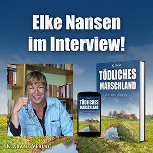 Elke Nansen im Interview zum Ostfrieslandkrimi Tödliches Marschland